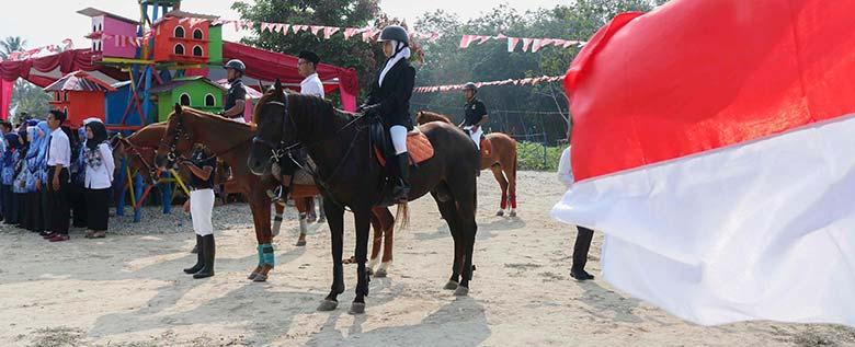 Pasukan Berkuda Pengibar Bendera