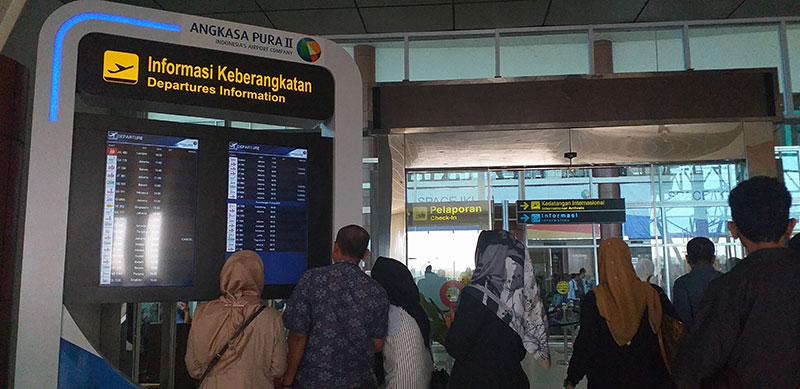 Di Dumai, Tiga Penerbangan Dibatalkan