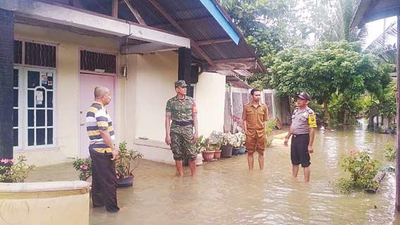 Banjir, Kebun Terendam Warga Mengungsi