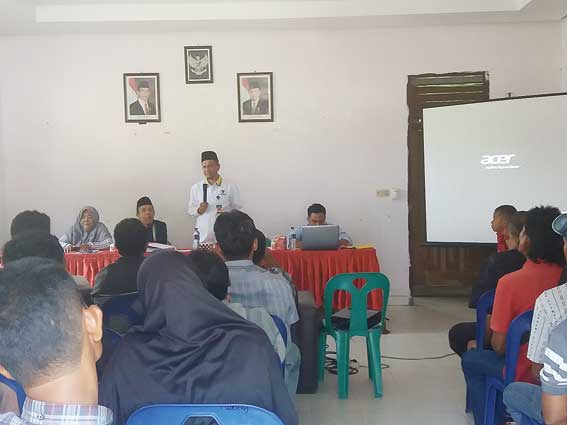 Baznas Sosialisasi Bantuan KPK Perawang