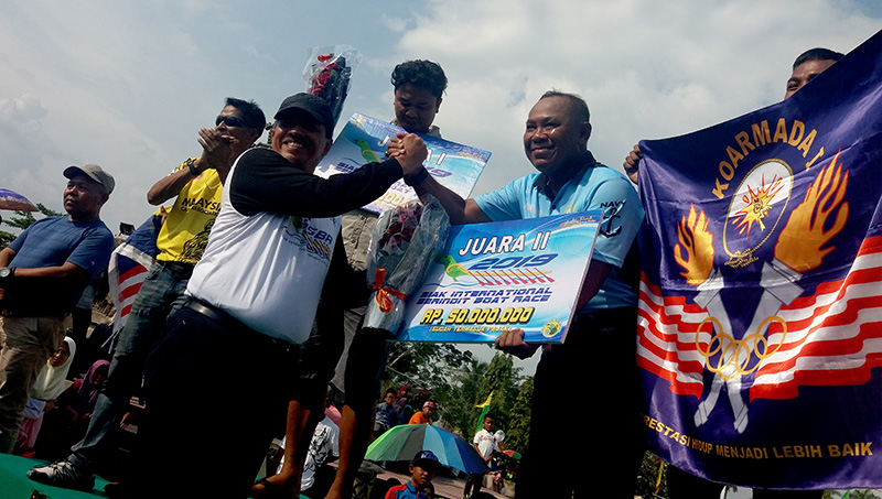 Siak International Serindit Boat Race III Ditutup