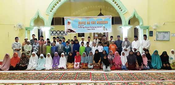 Anak-anak Antusias Ikuti Tahfiz on the Weekend