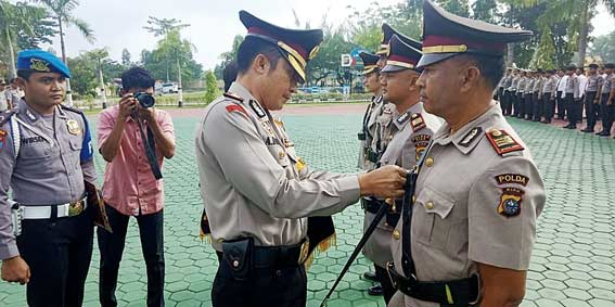 Tiga Pejabat Polres Dimutasi