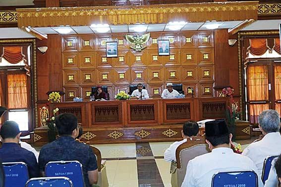 Bantuan Diserahkan Langsung ke Lombok