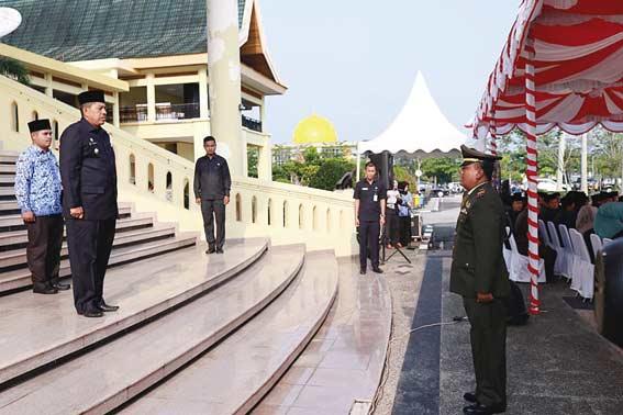 Saiful Arif Harumkan Nama SDN 01 Dayun