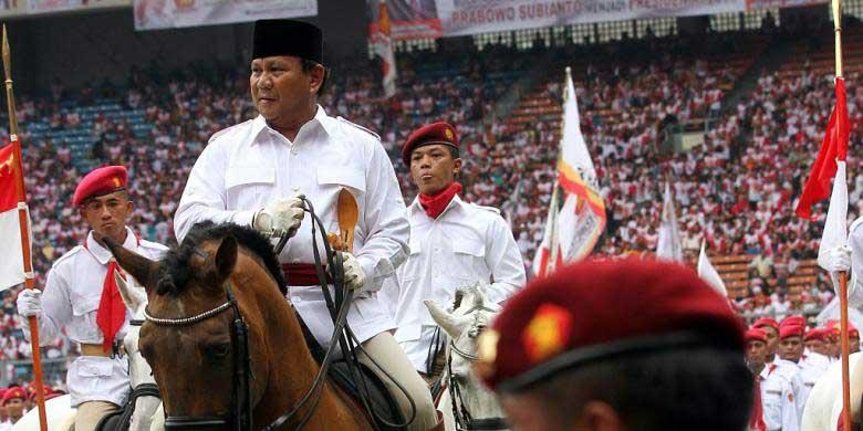 Prabowo Nyoblos di TPS 04 Kampung Curug, Rencana Datang Tunggangi Kuda