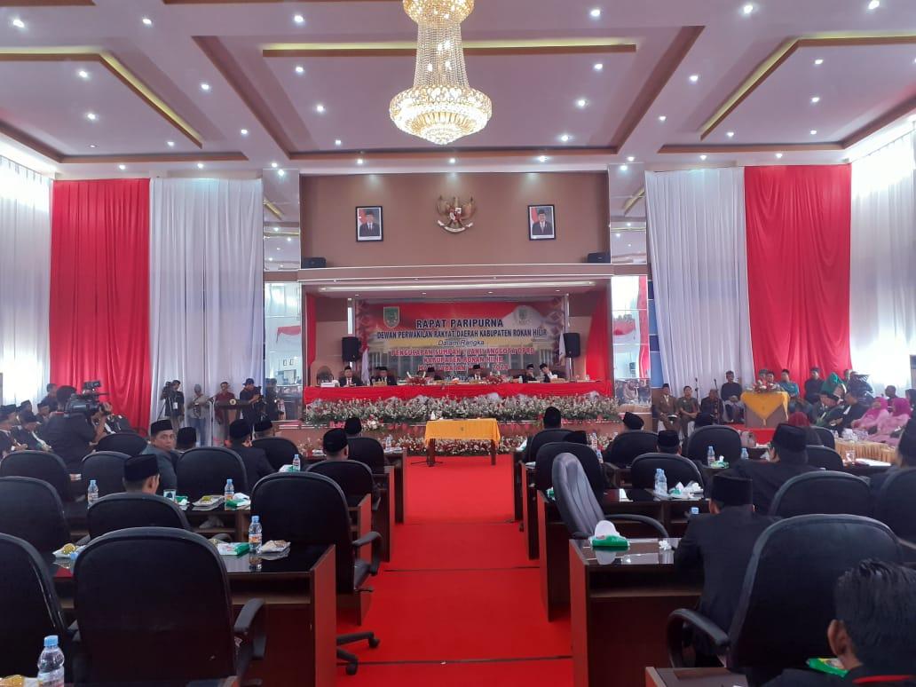 45 Anggota DPRD Rohil Diambil Sumpah/Janji