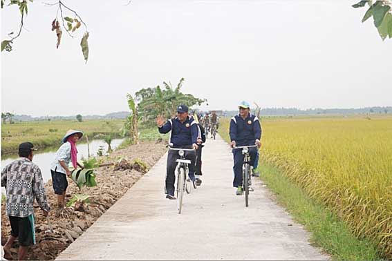 Tour de Sawah Iven Pariwisata Perdana 2019