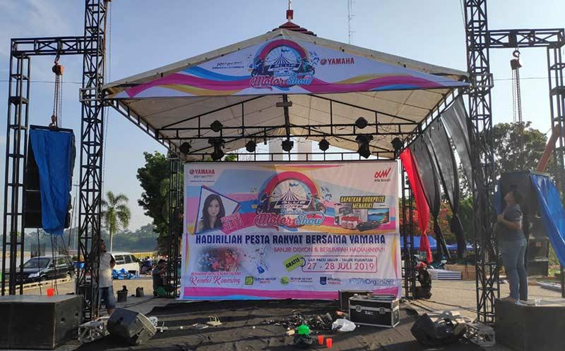 Hari Ini, Riau Pos dan Yamaha Gelar Iven di Telukkuantan