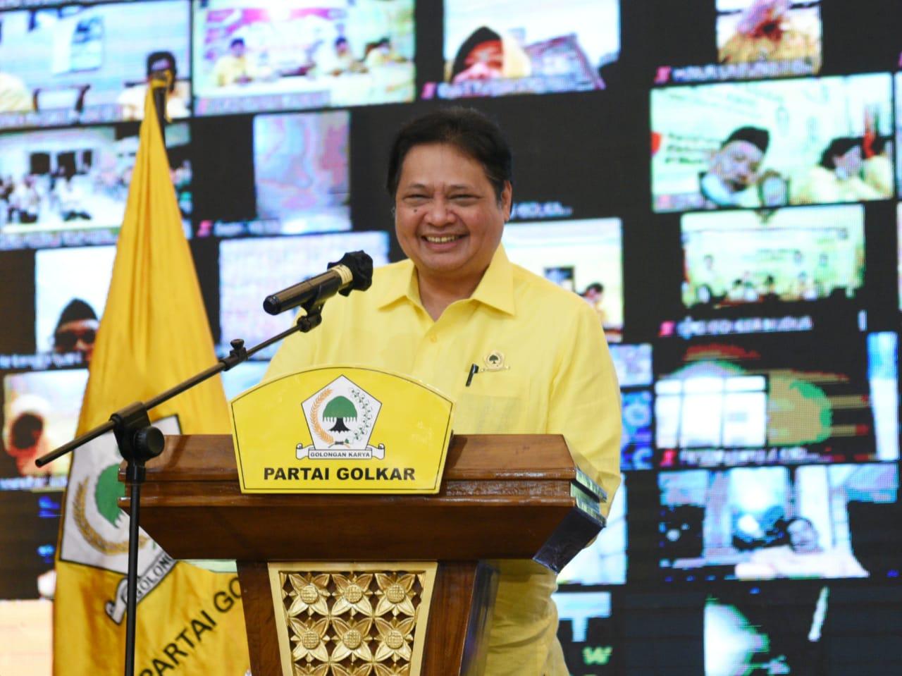 Partai Tertua, Airlangga: Golkar Berkomitmen Jaga Demokrasi Indonesia