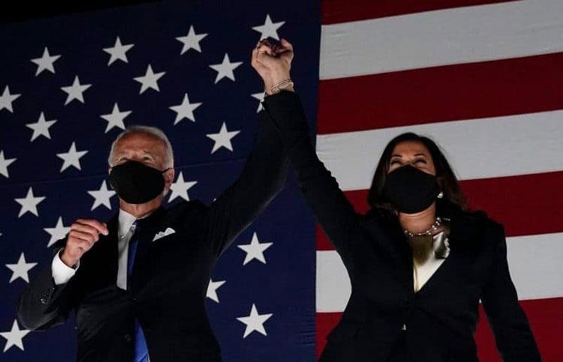 Kamala Harris Dampingi Joe Biden di Pilpres AS