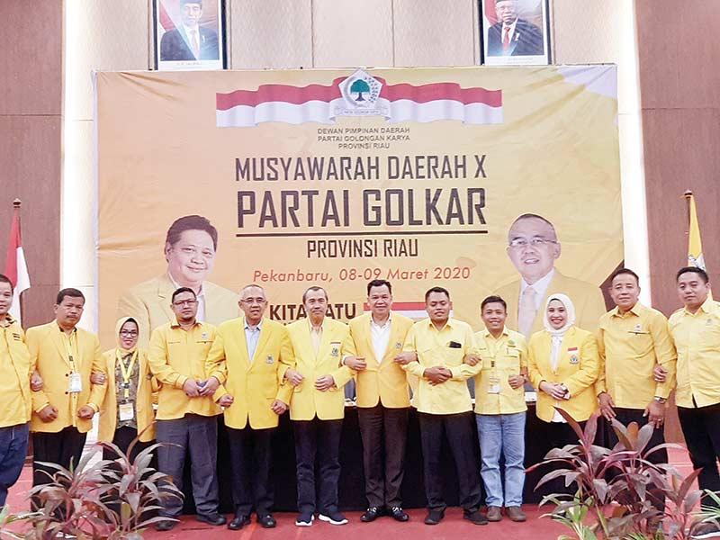 Syamsuar Ajak Kader Besarkan Golkar di Riau