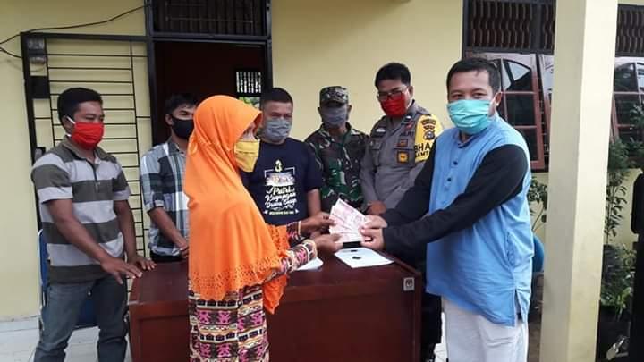 Rp600 Ribu BLT Dana Desa Disalurkan di Bandar Alai Kari