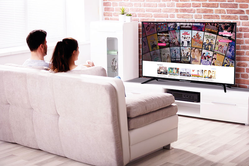 Sharp Berikan Akses Akun Premium Vidio Gratis