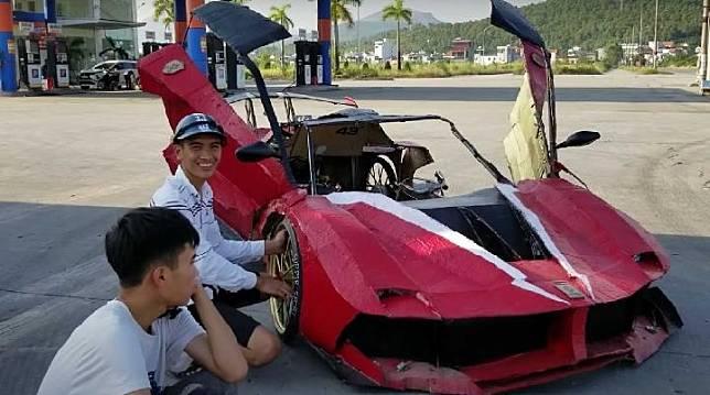 Kreatif, Bikin Supercar Ferrari FXX K Evo Cuma Habis Rp1,5 Juta