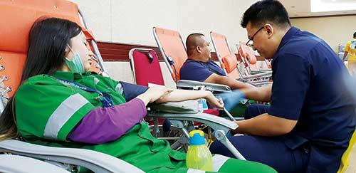 Riau Kompleks Gelar Donor Darah