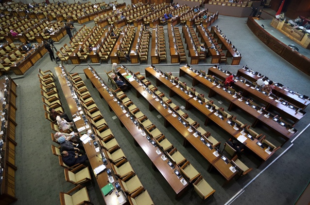 DPR Resmi Sahkan Revisi KPK Jadi Undang-Undang