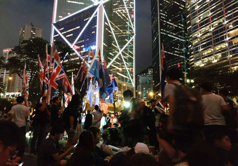 Hongkongers: We Are British, Not Chinese!