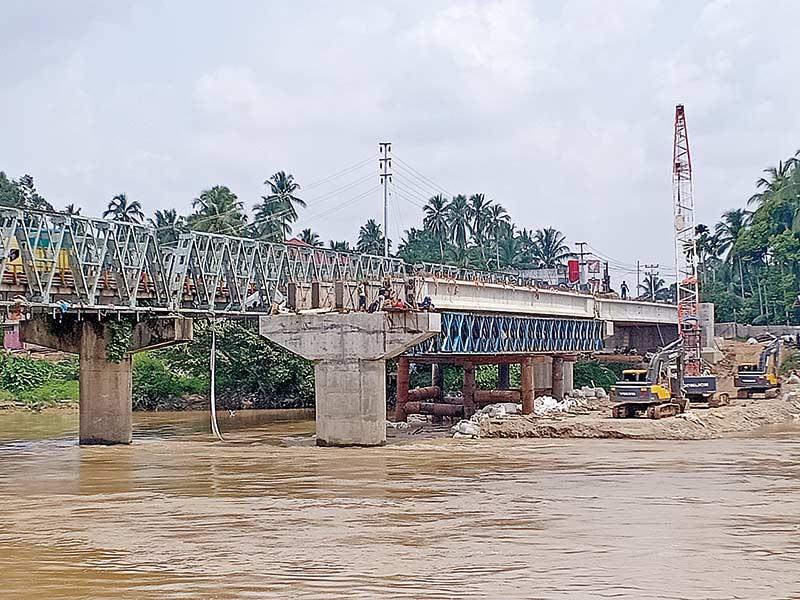 Camat Berharap  Jembatan Selesai 2019