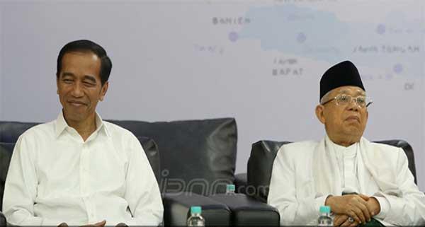 Viral!! Susunan Kabinet Jokowi - Ma'ruf yang Beredar di Aplikasi WhatsApp