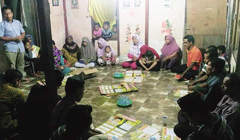 Juprison Silaturahmi dengan Warga di Tiga Kecamatan