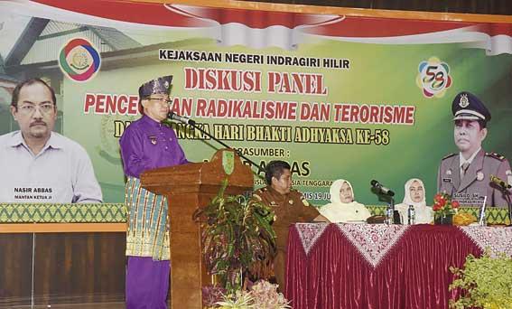 Terorisme Ciptakan Permusuhan