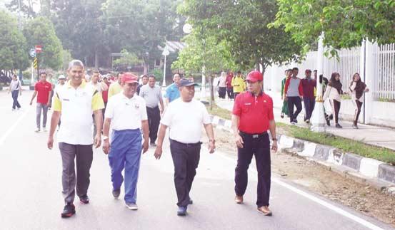 Olahraga Ajang Silaturahmi Pegawai