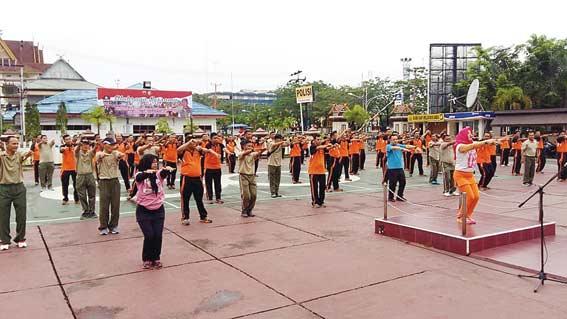 Jalin Solidaritas, Kodim dan Polres Olahraga Bersama