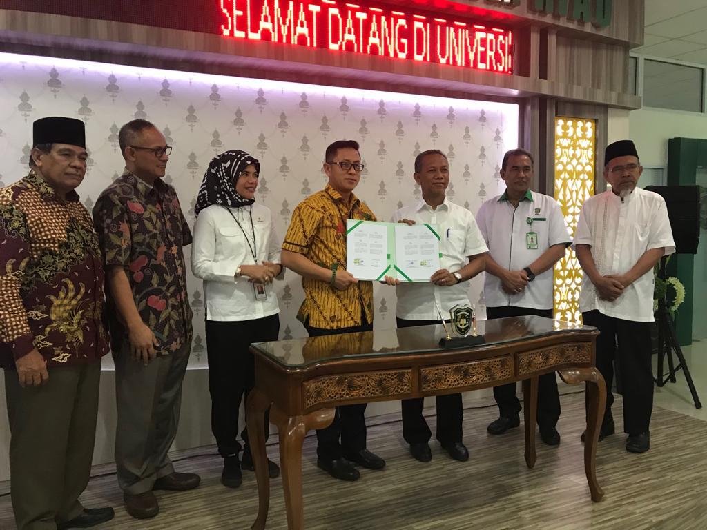SKK Migas Chevron-UIR Tandatangani Kerja Sama Bangun Migas Center Pertama di Riau