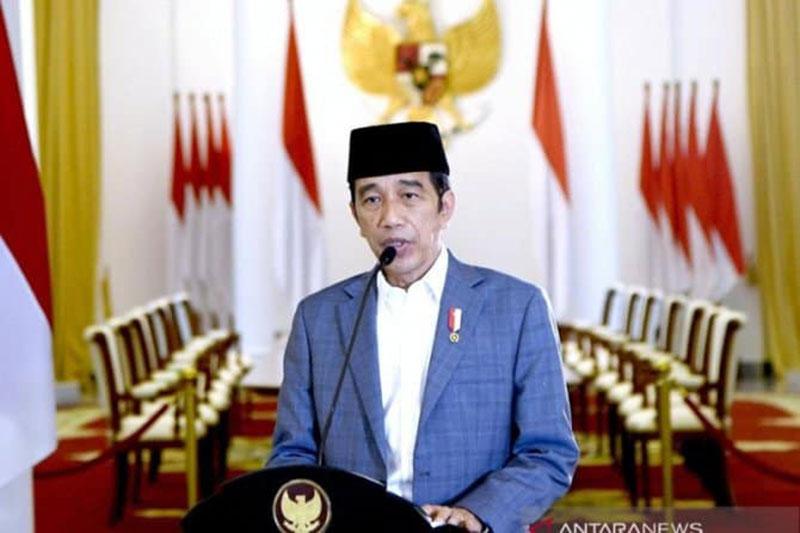 Jokowi: 2021 Indonesia Lebih Siap Hadapi Covid-19