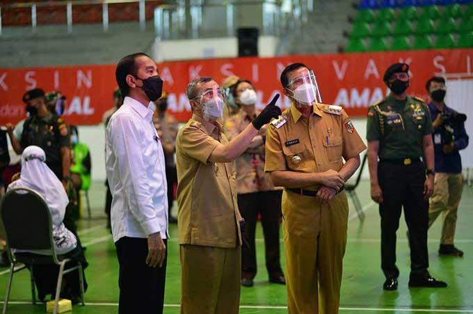 Presiden: Kirim Lebih Banyak Vaksin ke Riau