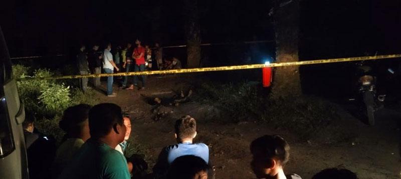 Pelajar Ditemukan Tewas di Gang Dusun Suka Makmur
