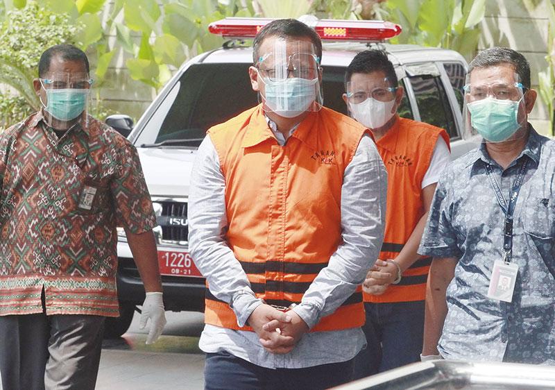 Edhy Prabowo Akui Belanja Berbagai Barang Mewah