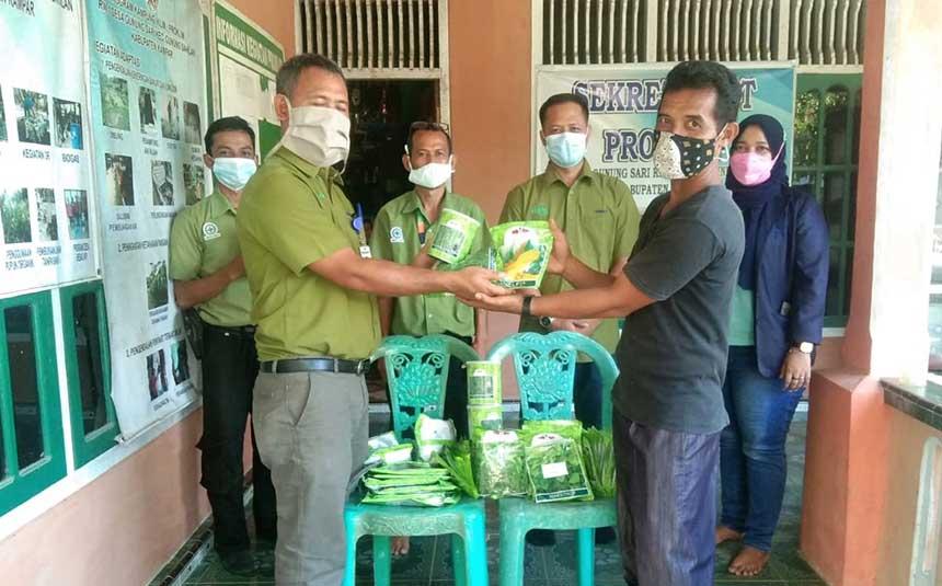 RAPP Bantu Bibit Hortikultura untuk Desa Proklim