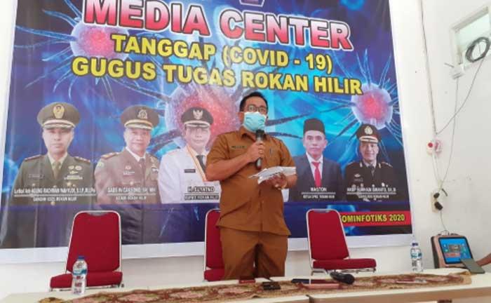 Pasien Positif OTG Jadi Kasus Perdana Covid-19 di Rohil