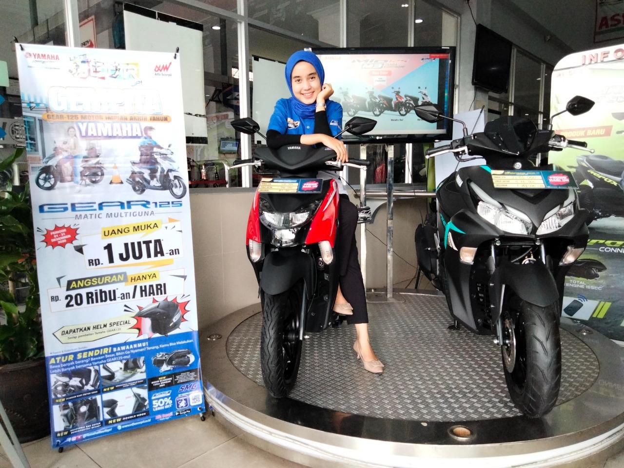 Yamaha Gear 125, Kini Sudah Tersedia di Semua Jaringan Dealer Yamaha