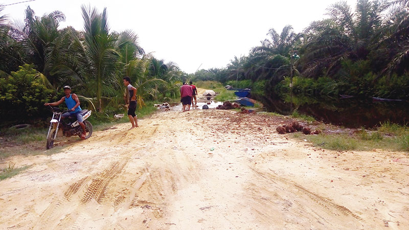 Hujan Tiga Hari, Tegar Kebanjiran