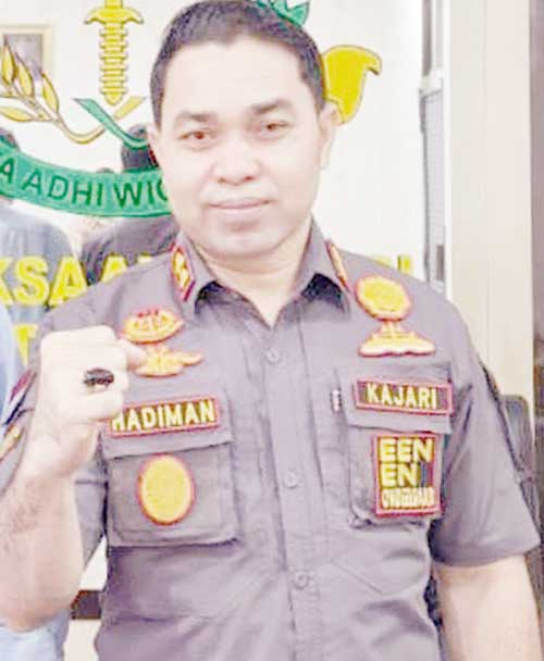 Mantan Ketua DPRD Penuhi Panggilan Kejari