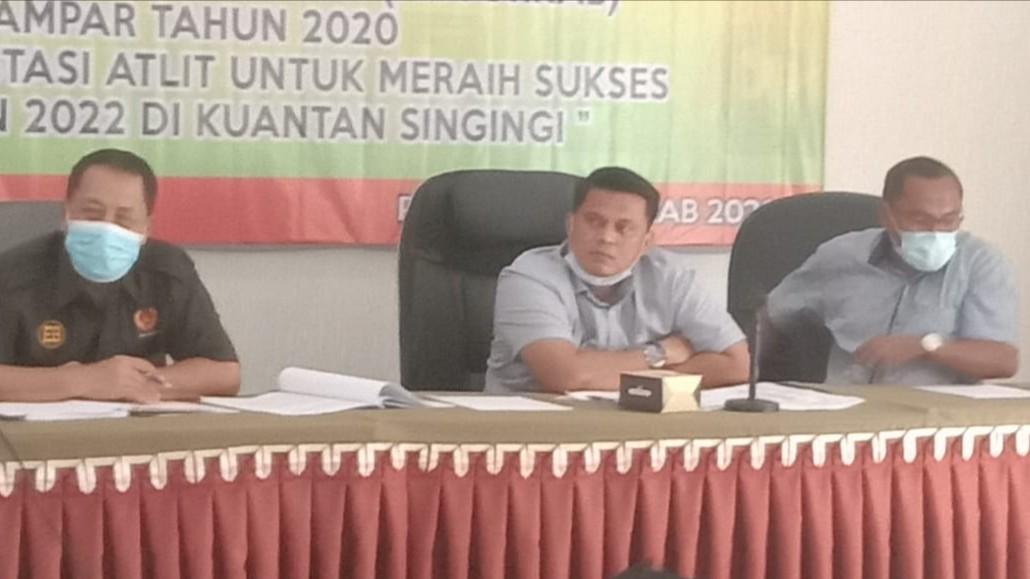 Rapat Perdana, Ketum KONI Kampar Ingatkan Target Porprov