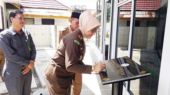 Kajari Pelalawan Resmikan Musala Al-Ikhlas