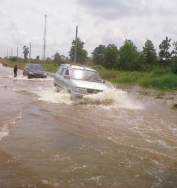 Banjir, Pemkab Kurang Tanggap