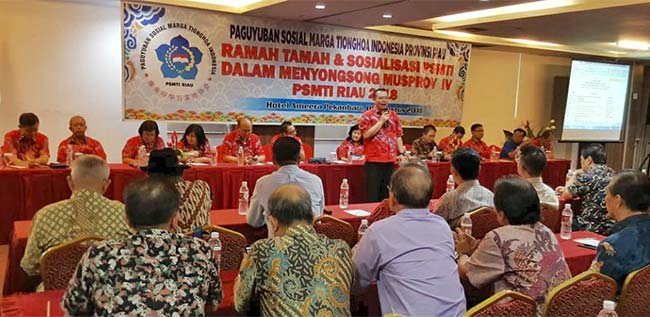 PSMTI Riau Gelar Sosialisasi Persiapan Musprov
