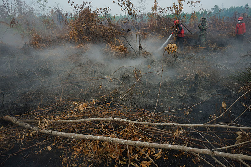 Tiga Ruko dan Mobil Hangus Terbakar