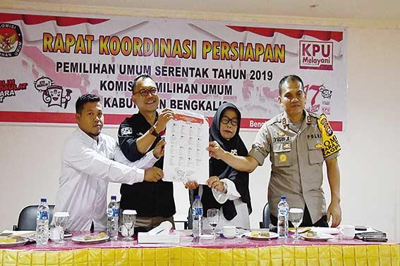 KPU Rakor Persiapan Pemilu