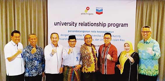 PT CPI Tanda Tangani MoU  dengan Empat Universitas