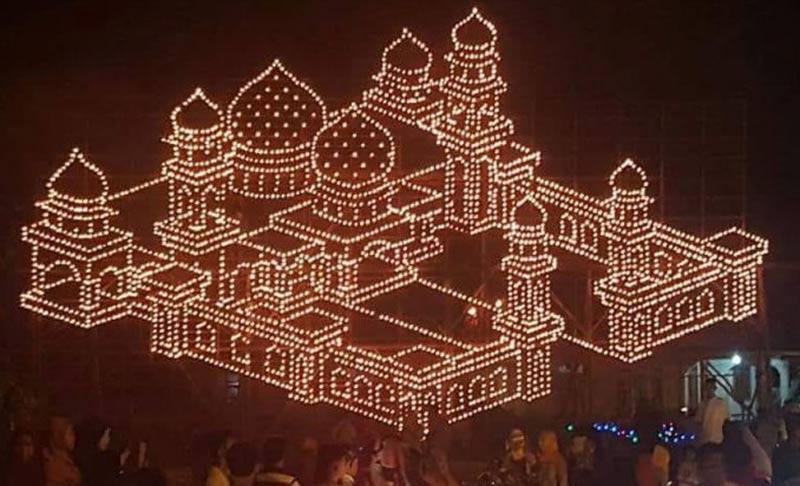 Festival Colok Dipusatkan di Pangkalan Batang