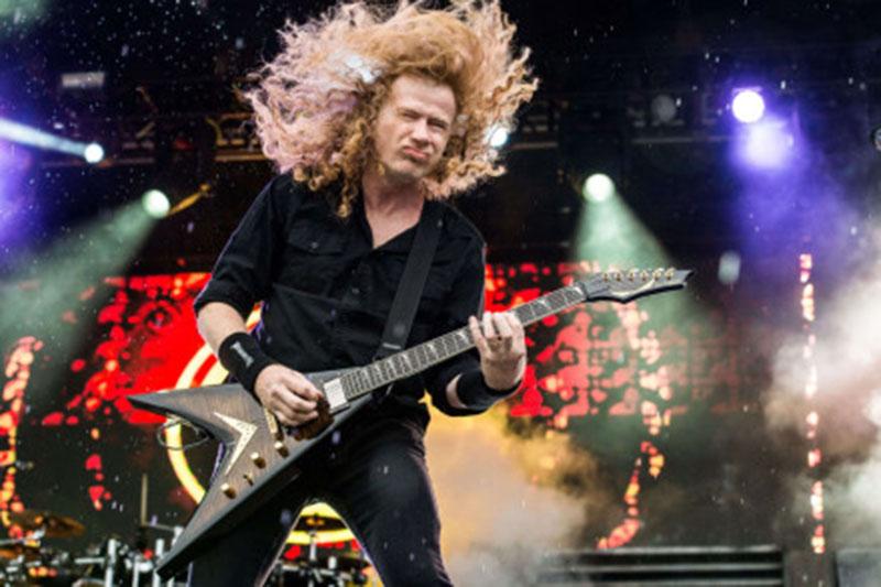 Dukungan Fans Jadi Penyembuh Kanker Dave Mustaine