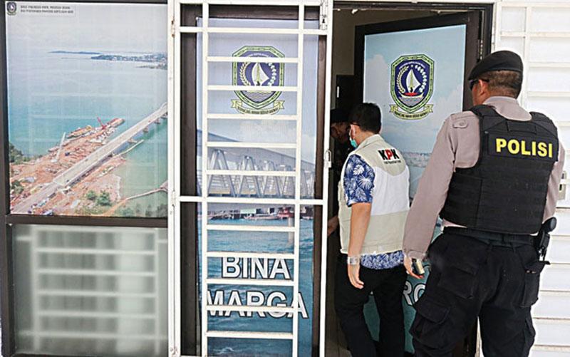KPK Obok-Obok Dua Kantor Pemerintah di Kepri