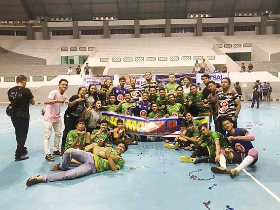Real Wahid dan UIR Juara Kejurda Futsal 2018