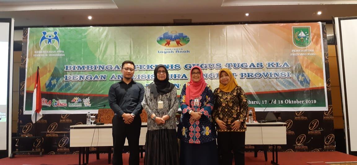 Sembilan Daerah Dapat Anugerah KLA, Riau Menuju Provila 2020